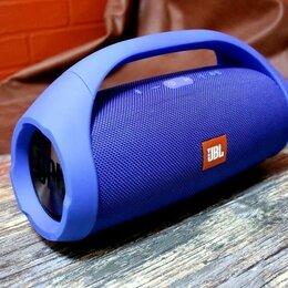 Портативная акустика - Колонка Boombox 33см синяя, 0