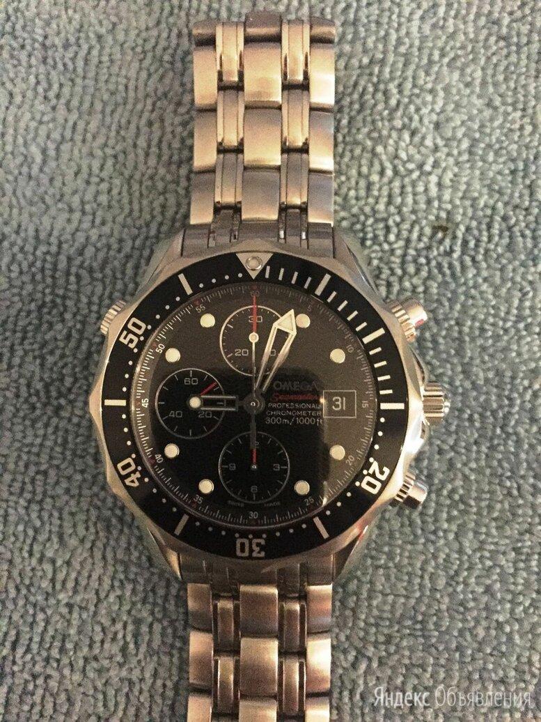 Omega Seamaster Diver 300m Chronograph 41.5 mm 213.30.42.40.01.001 по цене 253000₽ - Наручные часы, фото 0