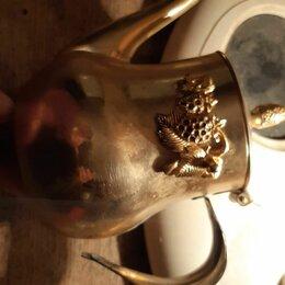 Посуда - Чайник позолоченный, 0