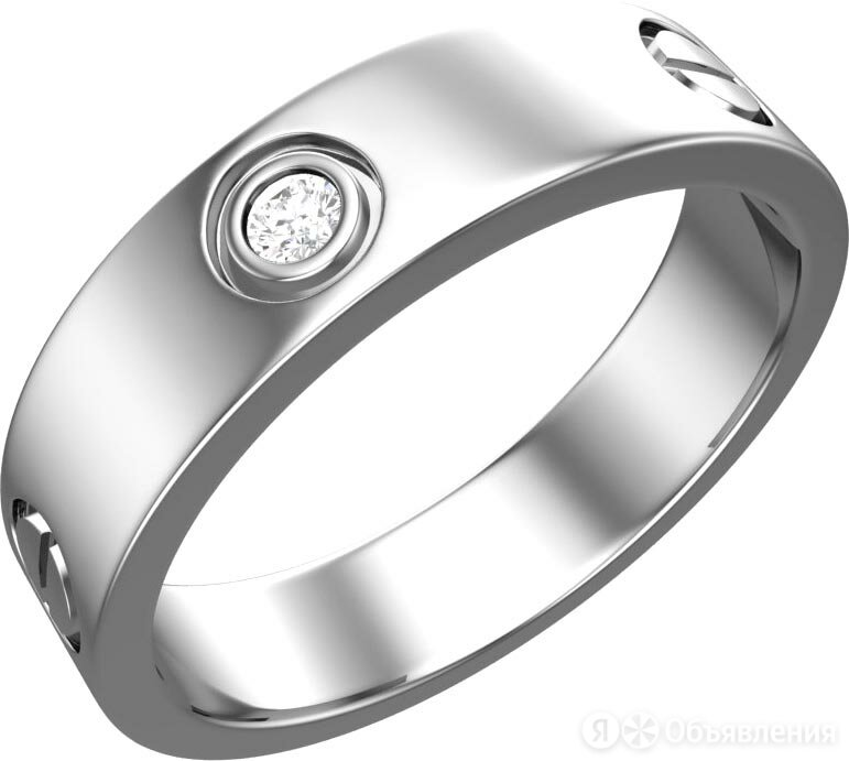 Кольцо POKROVSKY 1101311-00775_17-5 по цене 1400₽ - Кольца и перстни, фото 0