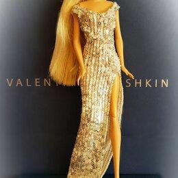 Аксессуары для кукол - Платье для куклы формата 1:6, 0