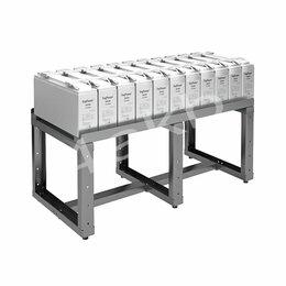 Стеллажи и этажерки - Однорядный стеллаж для хранения аккумуляторных батарей серии КРОН-АКС-2, 0