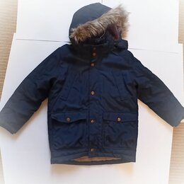 Куртки и пуховики - Зимняя куртка на мальчика на 6-7 лет122р, 0