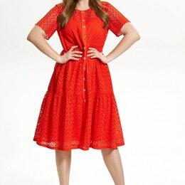 Платья - Платье 1757 MAGIA MODY красное Модель: 1757, 0