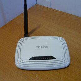 Оборудование Wi-Fi и Bluetooth - WI-FI Роутер TP-LINK TL-WR471ND, 0