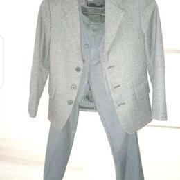 Комплекты и форма - Классический костюм тройка школьный, 0