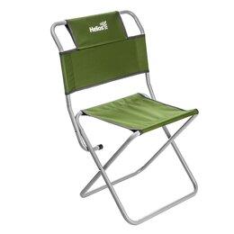 Походная мебель - Стул туристический со спинкой зеленый СР-400.19(с) труба ф19 Helios, 0