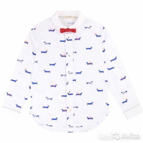 Рубашка с бабочкой Billybandit, 10 лет по цене 3750₽ - Рубашки, фото 0