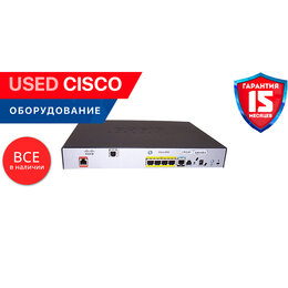 Прочее сетевое оборудование - Cisco 888EG2+7-К9  (used), 0