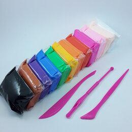 Лепка - Воздушный пластилин со стеками, 12 цветов, 0