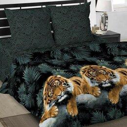 Кровати - Постельное бельё евро «Амур» 205х217, 217х240, 70х70см 2шт, 0