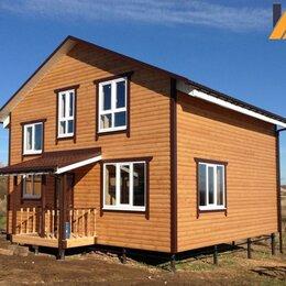 Готовые строения - Каркасный дом энергосберегающий кд-241 122.3м², 0
