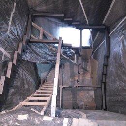 Лестницы и элементы лестниц - Металлокаркас для межэтажной лестницы, 0