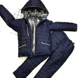 Комплекты верхней одежды - Комплект аdidаs куртка и полукомбинезон зимний, 0