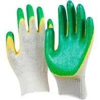 Средства индивидуальной защиты - Перчатки хб с двойным латексным обливом 13 класс, 0