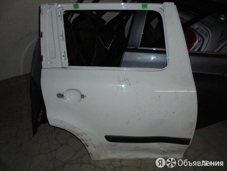 Skoda Yeti 2009-2013 год Дверь задняя правая по цене 3000₽ - Кузовные запчасти, фото 0
