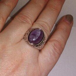 Кольца и перстни - Перстень с аметистом , 0