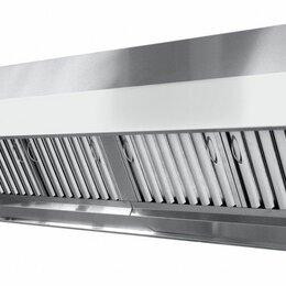 Прочее оборудование - Зонт вытяжной нерж сталь 1200х600/D250 H450 c жу, 0