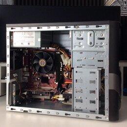 Настольные компьютеры - Системный блок 2 ядра 2.8GHz/4gb/видеокарта 1gb, 0
