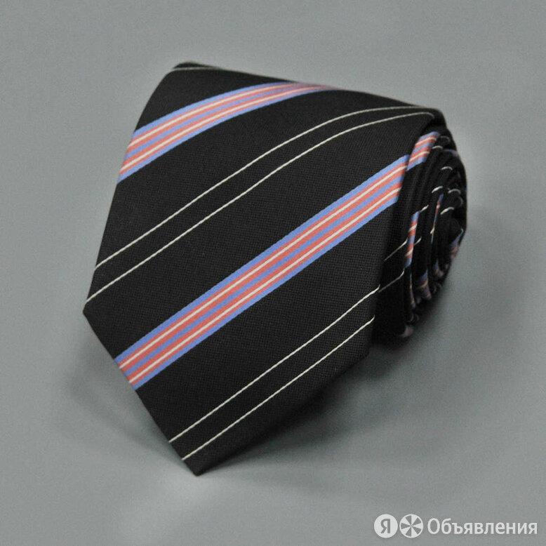Молодежный галстук в полоску с восхитительным сочетанием тонов Rene Lezard 83... по цене 3600₽ - Галстуки и бабочки, фото 0
