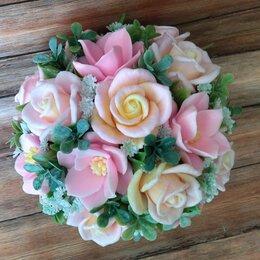 Мыло - Букет роз из мыла ручной работы, 0