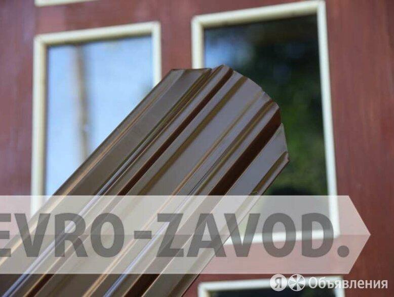Евроштакетник, С-образный, RAL 8017 по цене 67₽ - Заборы, ворота и элементы, фото 0