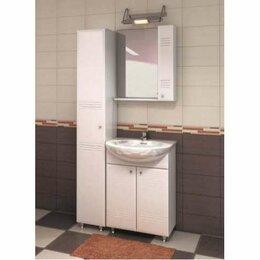 Полки, стойки, этажерки - Полка с зеркалом 600 Селена (ШxГxВ) 600x136x700, 0