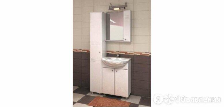 Полка с зеркалом 600 Селена (ШxГxВ) 600x136x700 по цене 2594₽ - Мебель для кухни, фото 0