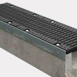 Уголки, кронштейны, держатели - Лоток водоотводный бетонный, 0