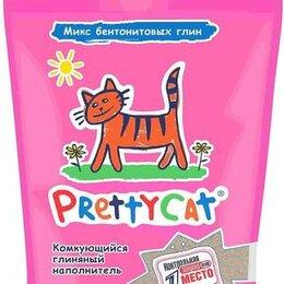 Наполнители для туалетов - PRETTYCAT наполнитель комкующийся для кошачьих туалетов EURO MIX 2,5 кг , 0
