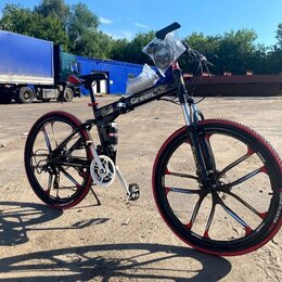 Велосипеды - Велосипед на литых дисках складной GR26 Black , 0