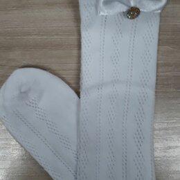 Носки - Трикотажные ажурные детские гольфы, 0