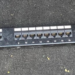 """Прочее сетевое оборудование - коммутационная панель кат.5е utp 19"""", 1u, 24хrj45, 0"""