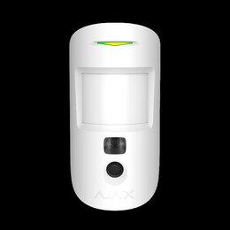 Системы Умный дом - Ajax MotionCam  белый датчик движения с фотокамерой для верификации тревог, 0