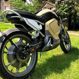 Мото- и электротранспорт - Электромотоцикл Super Soco TC , 0