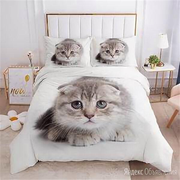 Постельное белье ля мур котики по цене 2490₽ - Постельное белье, фото 0