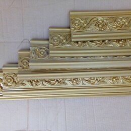 Лепнина - Молдинг гибкий золото, 0