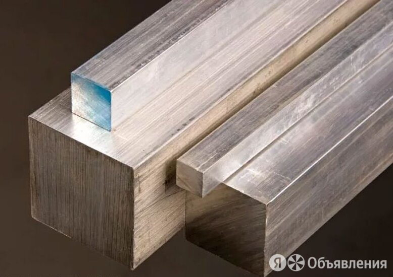 Квадрат алюминиевый 65х65х3000 мм Д16Т по цене 99063₽ - Металлопрокат, фото 0