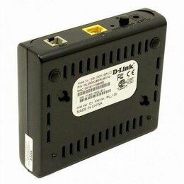 3G,4G, LTE и ADSL модемы - Adsl модем d-link dsl-2500u, 0