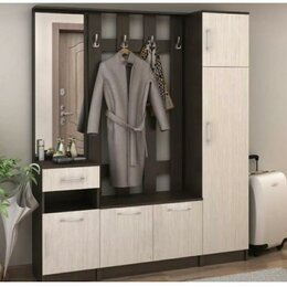 """Шкафы, стенки, гарнитуры - Модульная прихожая """"Машенька"""" 1.6м, 0"""