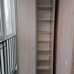 Шкафы, стенки, гарнитуры - Новый Шкаф купе 2-двери узкий с полками без зеркал, 0