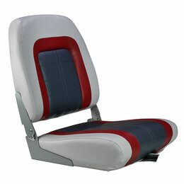 Походная мебель - Кресло мягкое складное Special, обивка винил, цвет серый/ красный/ угольный, ..., 0