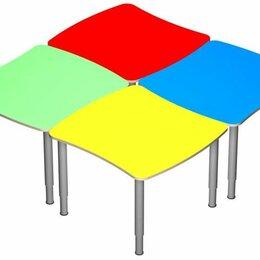 Столы - Стол «Облачко» на регулируемых ножках. (в цвете), 0
