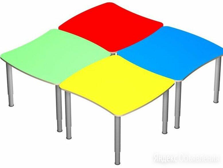 Стол «Облачко» на регулируемых ножках. (в цвете) по цене 3300₽ - Столы, фото 0