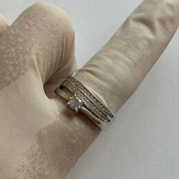 Кольца и перстни - Кольцо серебряное, 0