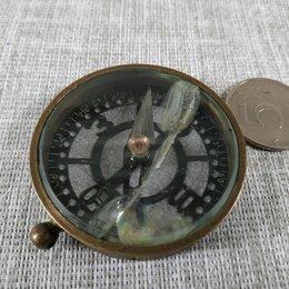 Компасы - Компас латунный 19 век., 0