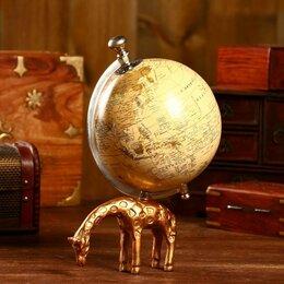 Глобусы - Глобус сувенирный 'Жирафик' 12,7х12,7х25,4 см, 0