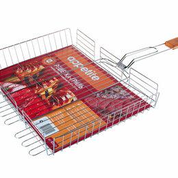 Решетки - Решетка для гриля - Решетка-гриль сталь 40х30см глубокая ТМ Appetite, 0