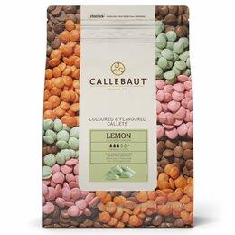 Собаки - Цветной шоколад Callebaut Lemon, 0