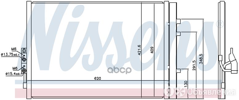 Радиатор Кондиционера Bmw X3 2.8i       09- Nissens арт. 940227 по цене 11800₽ - Отопление и кондиционирование , фото 0